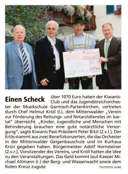 Garmisch-Partenkirchner Tagblatt 29.08.2016
